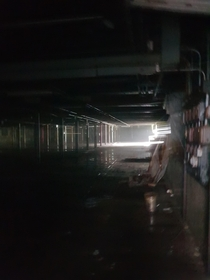 Diamond mill basement goes on for a mile Me