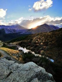 Did a spontaneous hike in Queenstown and ended up taking one of my favourite pics in New Zealand - Queenstown NZ -