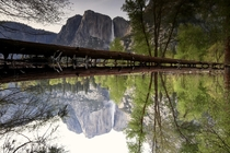Did you realize this picture is upside down Yosemite California