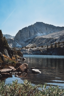 Didnt realize wed need reservations for Yosemite but the  Lakes Basin wasnt a bad alternative
