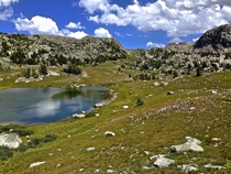 Didnt see another person for  days Wind River Range Wyoming