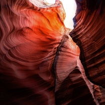 Different angle from the canyon Antelope Canyon Arizona IG GiorgioSuighi