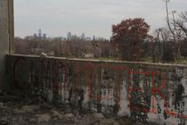 Different View of Detroit skyline from Packard Plant - Detroit MI