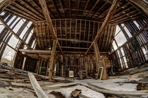 Dilapidated Barn in Southern Ontario