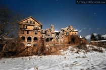 Dilapidated Womens School in the Snow