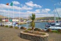 Dingle County Kerry Ireland from the marina