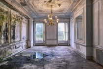 Dining room of an abandoned orphanage in UK James Kerwin