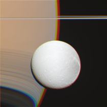 Dione and Saturn Cassini handpicked raw files