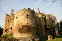 Dirleton Castle East Lothian Scotland