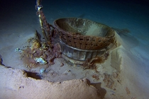 Discarded rockets of the Apollo  voyage Found at the bottom of the Atlantic ocean by Amazoncoms billionaire Jeff Bezos