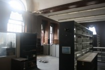 Disused library at The College of New Jersey