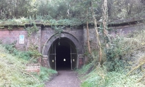 Disused railway tunnel Oxendon