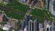 Diverging Diamond Interchange in SimCity
