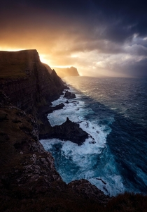 Divine intervention Faroe islands