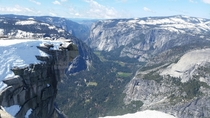 Diving Board - Half Dome Yosemite April