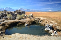 Do you all like natural hot springs Heres my favorite one near Mammoth Lakes CA x