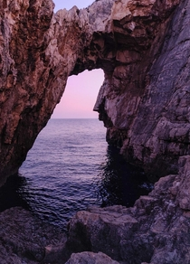 Do you see a face or its just me Zakynthos Greece