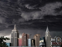 Does a casino that looks like a city count here New York New York in Las Vegas during monsoon season