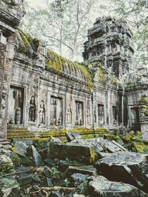 Does ancient abandoned stuff count Angkor Thom Thailand