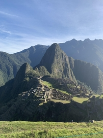 Does this pic I took of Machu Picchu count as abandoned porn