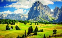 Dolomite Mountains Italy