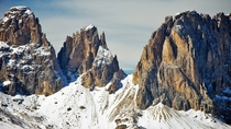 Dolomite Mountains Italy  by Grazia Salerno