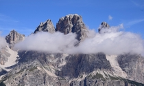 Dolomites above Cortina Italy