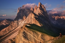 Dolomites in Northern Italy  by Igor Pilawski