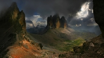 Dolomites Italy  by Moro