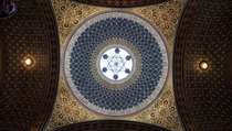Dome of Spanish Synagogue Prague