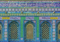 Dome of the Rock tiled faade