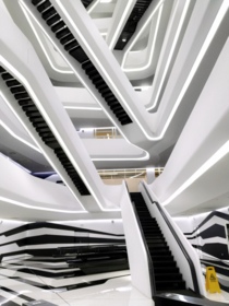 Dominion business centre  Zaha Hadid Architects  Moscow Russia