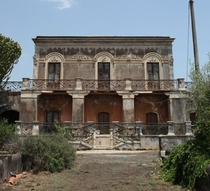 Don Ciccios house from the Godfather II is abandoned filming location in Sicily Italy
