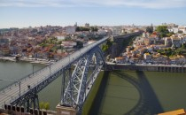Don Luis I Bridge Porto Portugal