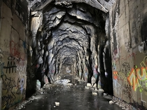 Donner Summit Train Tunnels Truckee CA Completed  abandoned
