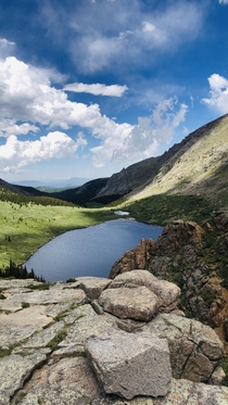 Dont know if it was the altitude or the scenery but Mt Evans CO is breath taking