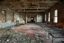 Dormitory of the Phoenix House a drug treatment center on Hart Island NYC   opacityus