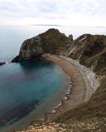 Dorset coastline United Kingdom