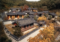 Dosanseowon Confucian academy village in South Korea Built in the th century and preserved by the government as a cultural heritage