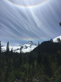 Double Rainbows Mount Rainier National Park Washington
