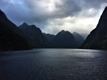 Doubtful Sound Fiordland National Park NZ Unfortunately made the trip just before getting a real camera