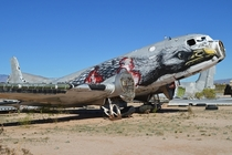 Douglas C-D Super Dakota ARM Scrapyard Davis Monthan Tucson Arizona Photo by Alan Wilson  x-post rHI_Res