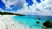 Down in Bermuda the pale blue sea