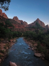 Down in the Valley - Zion National Park Utah  IGcoreyraff