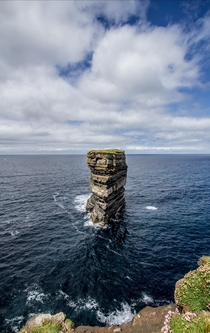 Downpatrick Head in Co Mayo Ireland Photo from last year while travelling the Wild Atlantic Way