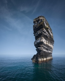 Downpatrick Head Ireland by ihaveadarksoul