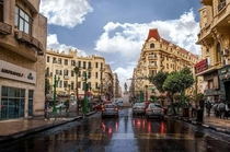 Downtown Cairo Egypt The only decent neighborhood in Cairo that isnt exclusively for the rich