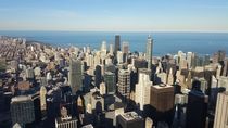Downtown Chicago from the Sears Tower