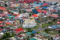Downtown Georgetown Guyana Colorful City