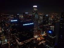 Downtown LA from the Top Floor of the Wilshire Grand Center